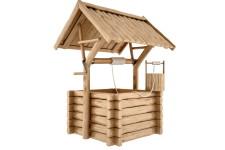 Как сделать деревянный колодец и какое дерево выбрать