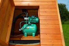 Установка и подключение насосной станции к колодцу