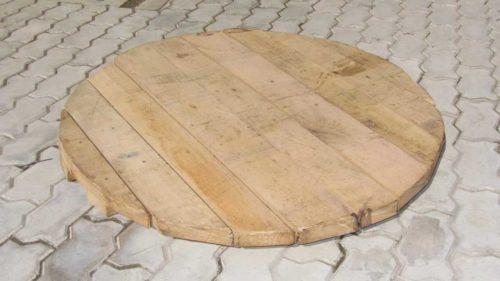 деревянный щит для колодца