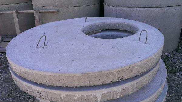 Бетонная крышка для колодца
