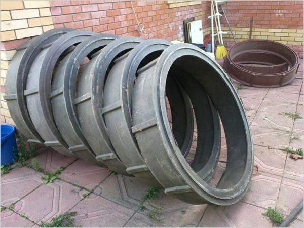 кольца для полимерного колодца